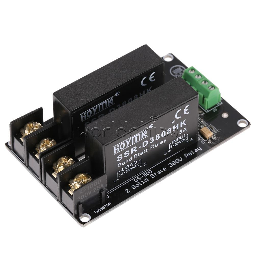 1 2 4 Channel 380v 8a Solid State Relay Board Ssr Switch
