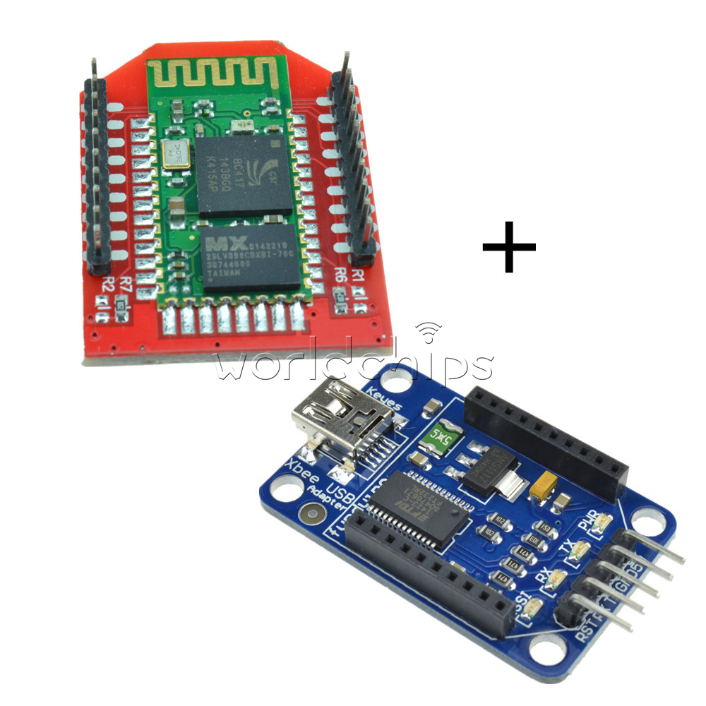 Details about Arduino Bluetooth Bee Slave HC-06 module With Bluetooth Bee  Xbee adapter New