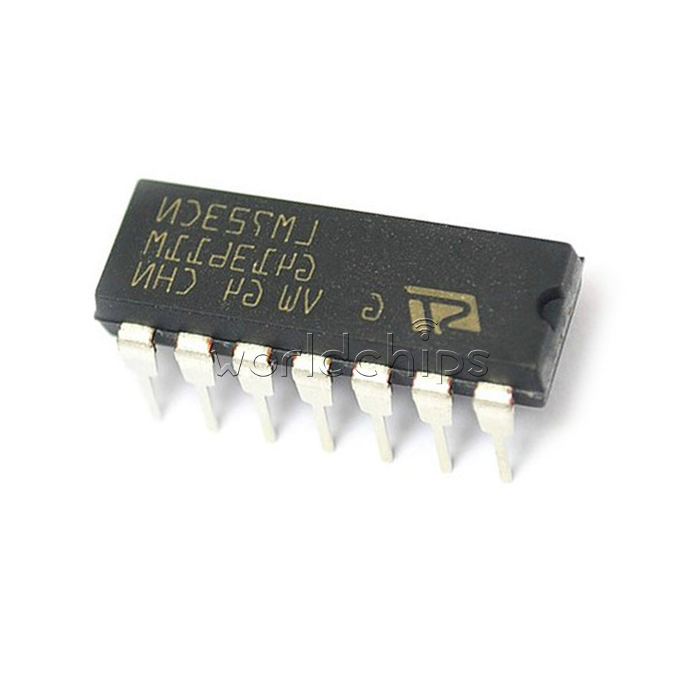 10pcs Lm723cn Lm723 Dip 14 Ic Adjustable Voltage Regulator 2 37v Ebay Explanation And Circuit Electronic Circuits