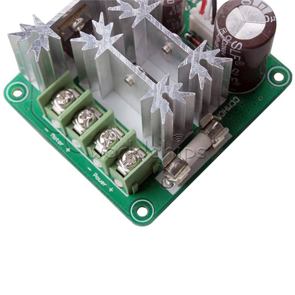 Dc6 90v 15a Pulse Width Pwm Hho Rc Motor Speed Controller