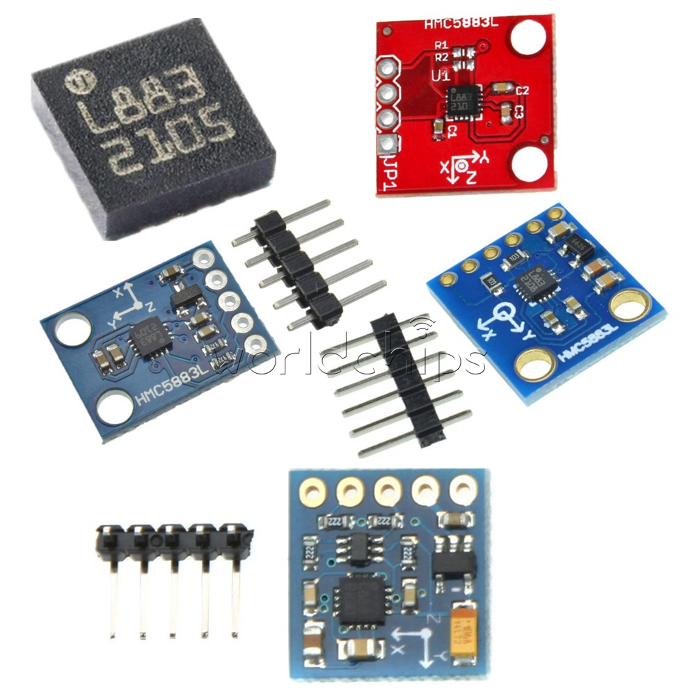 Details about HMC5883L GY-271 GY-273 Triple Axis Compass Magnetomet Sensor  3V-5V For Arduino