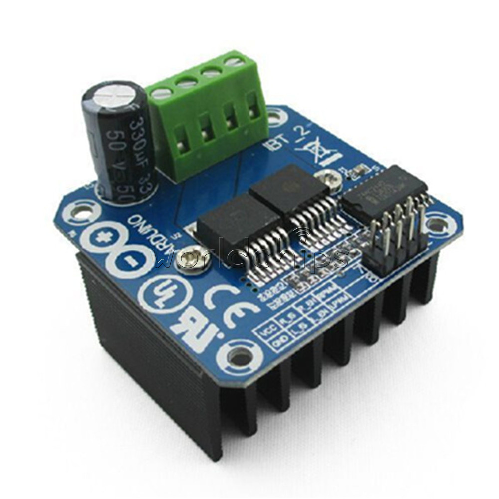 Semiconductor Bts7960b Motor Driver 43a H Bridge Drive Pwm
