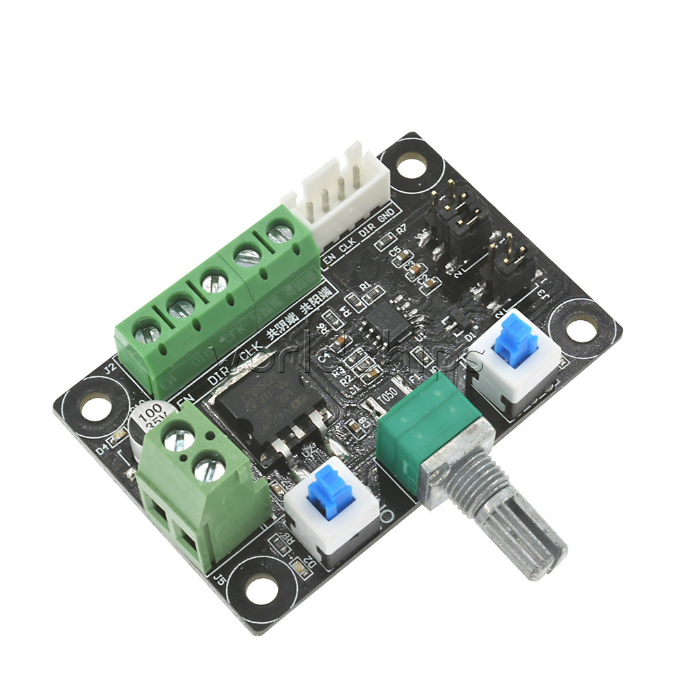 Stepper motor driver controller pwm pulse signal generator for Servo motor pulse width