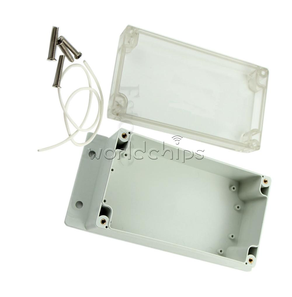 Waterproof 158x90x65mm Clear Plastic Electronic Project