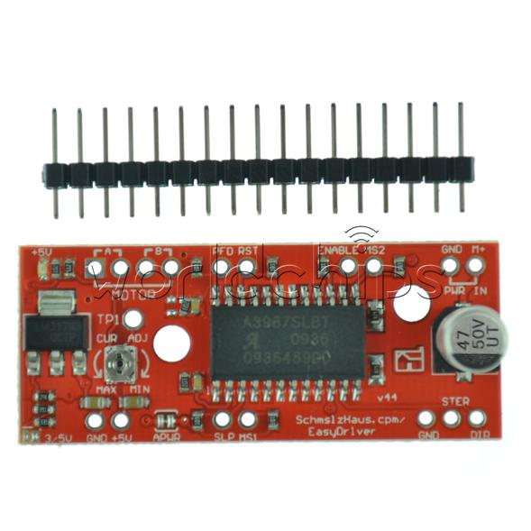 Details about A3967 A4988 Easy Driver Stepper Motor Driver Board Driver For  Arduino 3D Printer