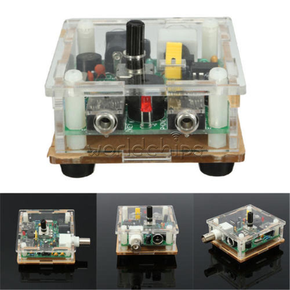 S pixie cw qrp shortwave ham amateur radio transceiver 7 for 2 case kit di storia