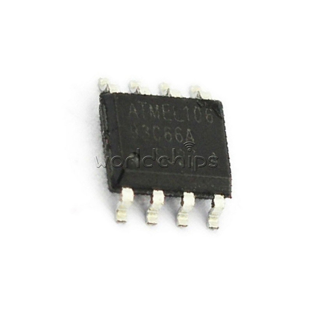 Details about 10PCS SOP 8 ATMEL AT93C66A AT93C66 93C66 SOP8 3-wire Serial  EEPROM Original