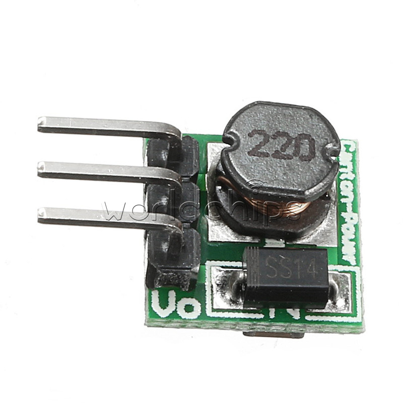 Dc voltage converter v to step up boost