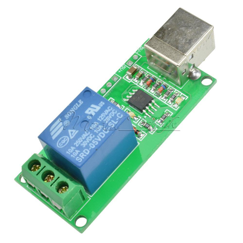 5v 12v Usb Relay 1 2 4 8 Ch Programmable Computer Control