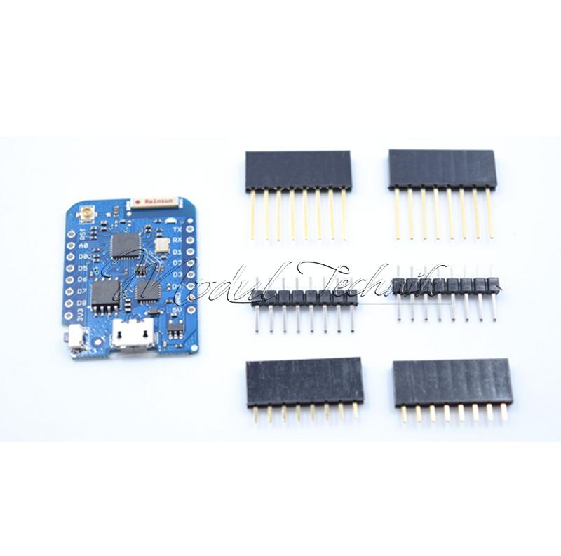 Esp wemos d mini pro nodemcu arduino ide oled relay