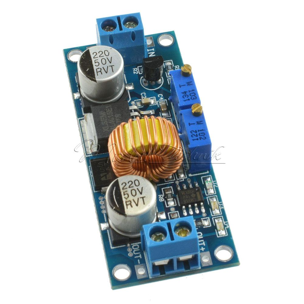 Xl4015 5a Dc Step Down Buck Converter Module Power Supply Led High Efficiency Switch Mode 33v Lithium Charger