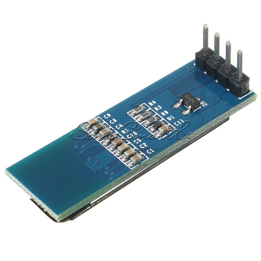 Iic i c quot blue spi oled lcd display module for