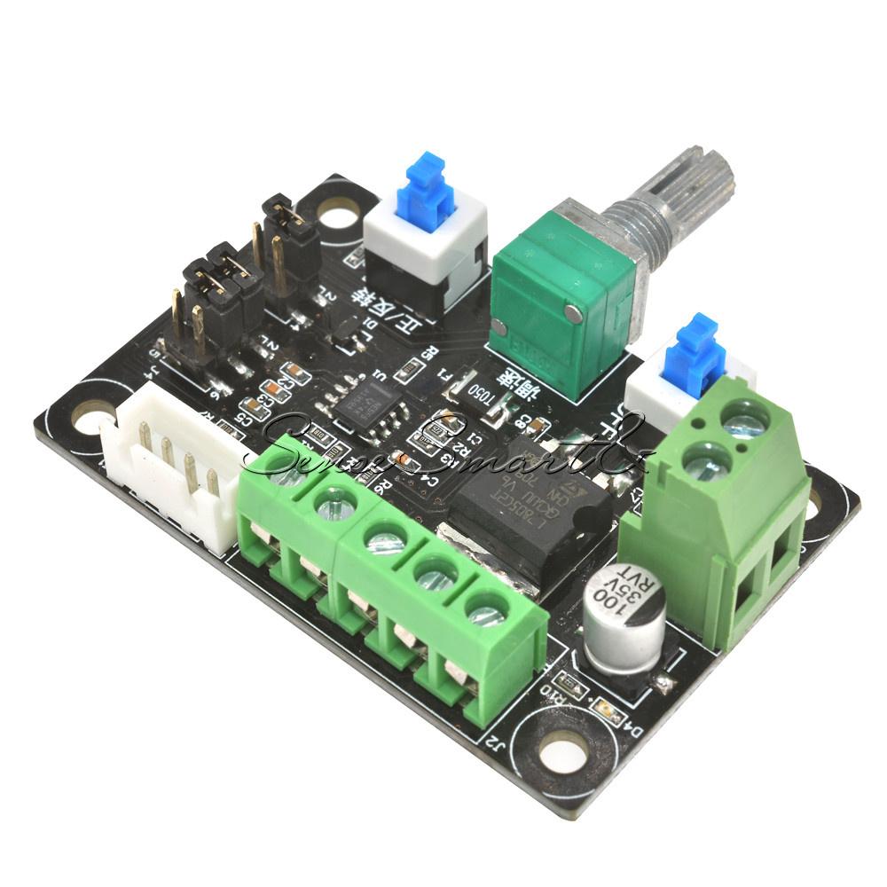 8 24v 12v Stepper Motor Speed Controller Module Pulse
