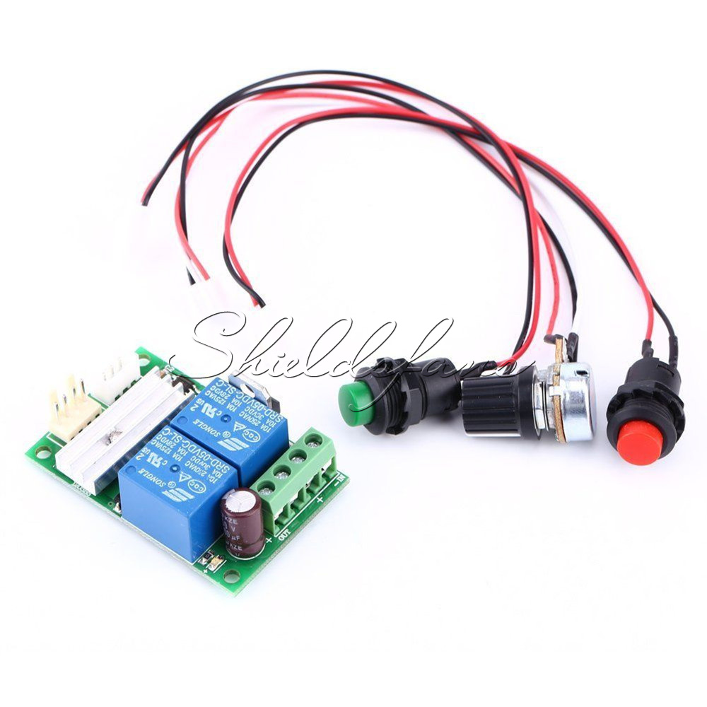 3a Dc Motor Speed Controller Pwm Adjustable Reversible Switch 6v 12v By Sg3525 Details Descriptions 1203bs