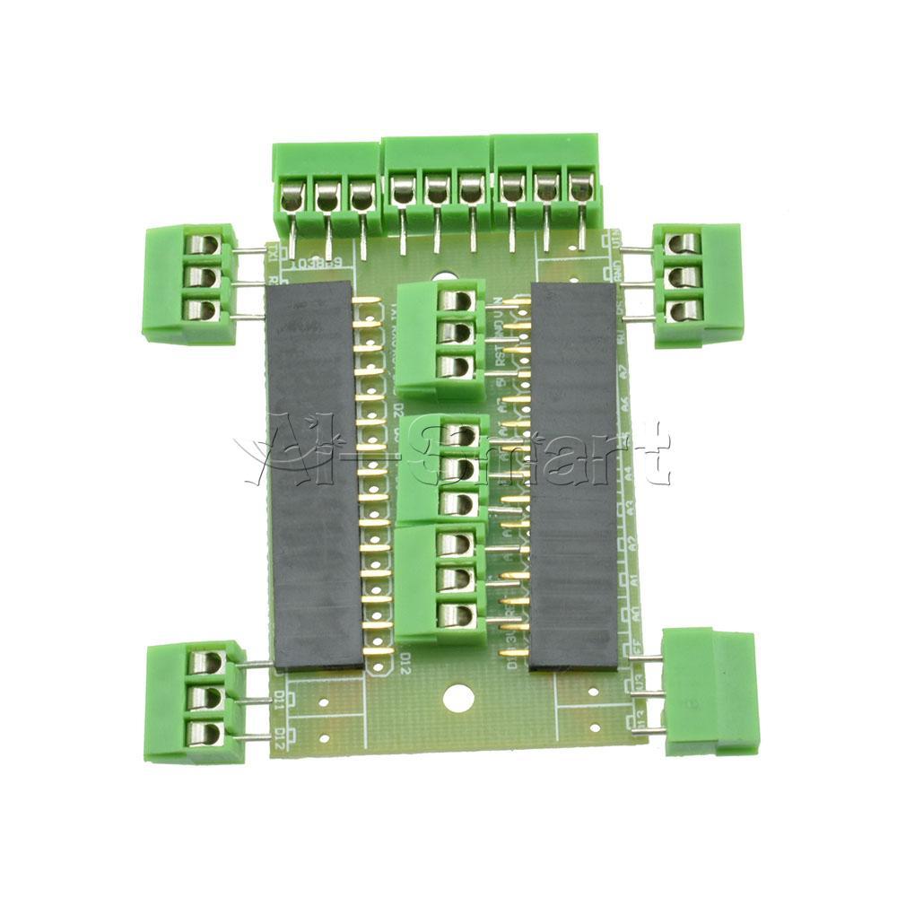 Diy kits expansion board terminal adapter for arduino nano
