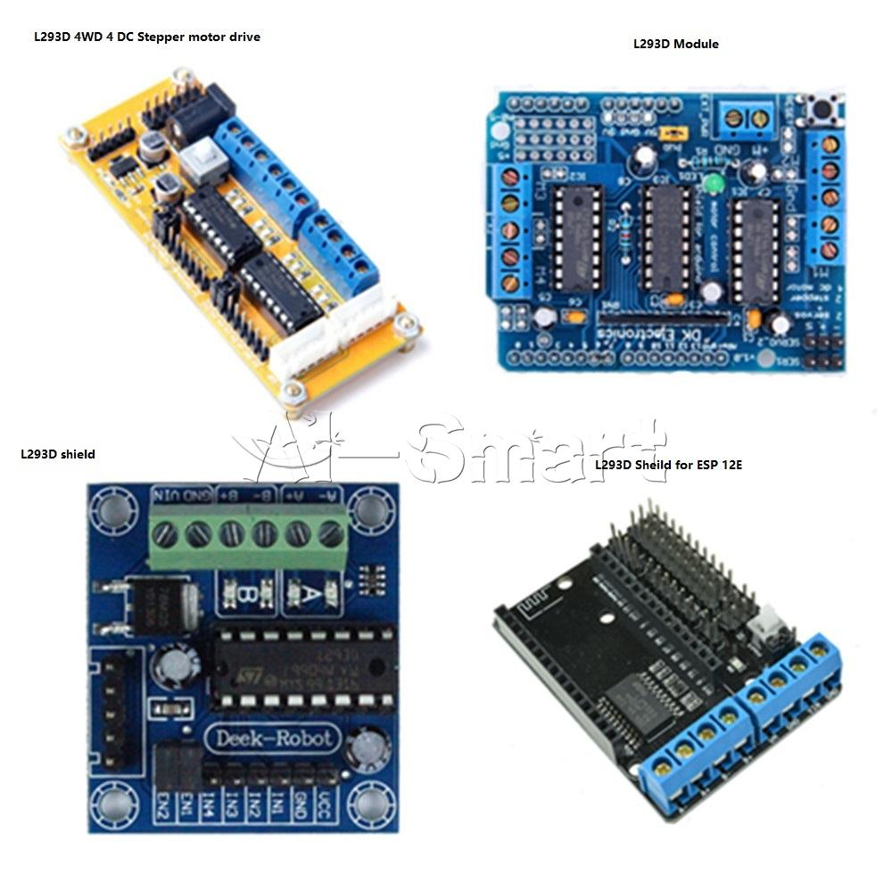L d ic motor nodemcu expansion board for arduino uno