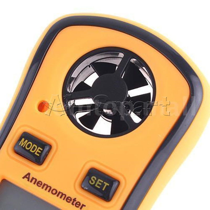Wind Speed Meter : New digital lcd pocket anemometer wind speed meter