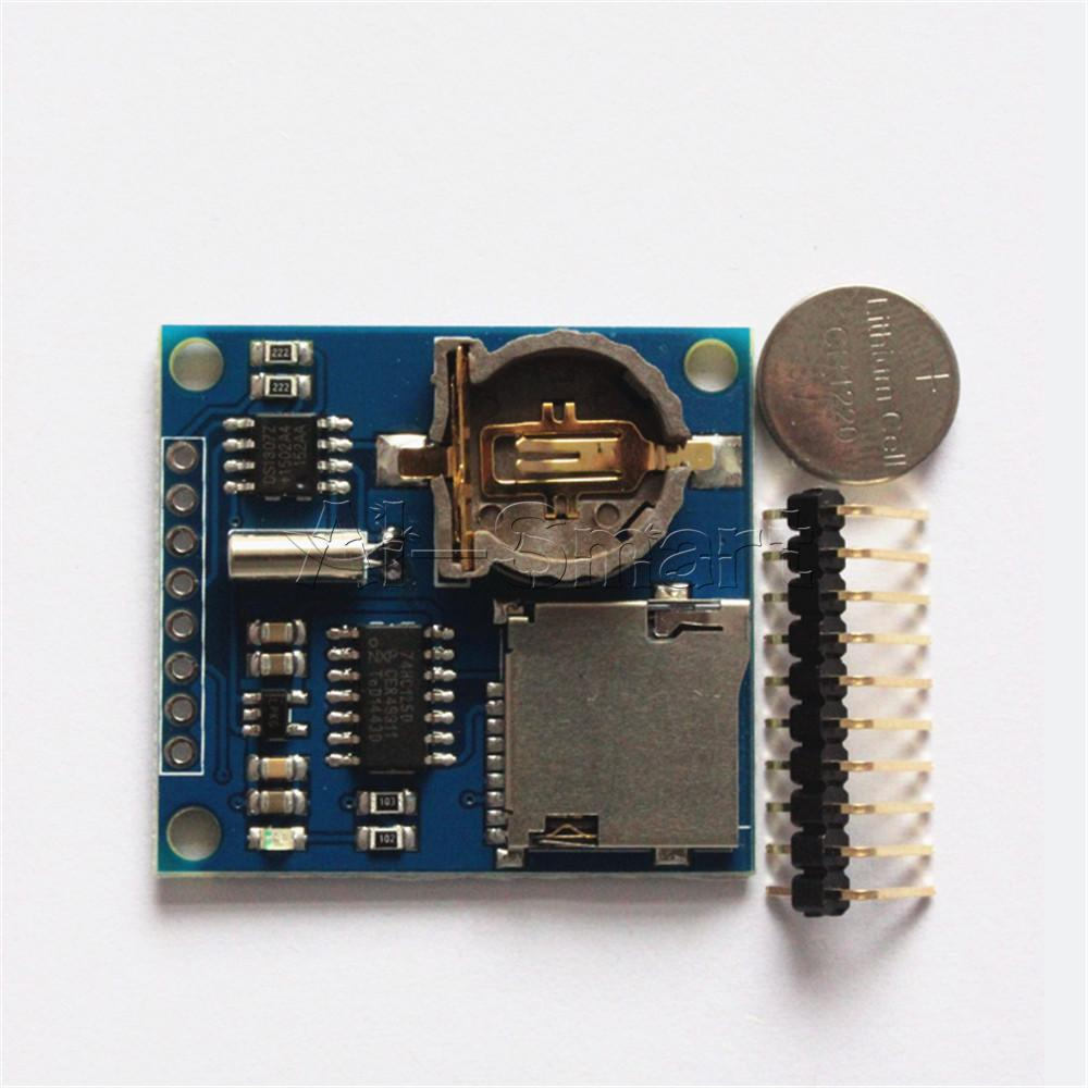 New mini data logger module logging shield for arduino