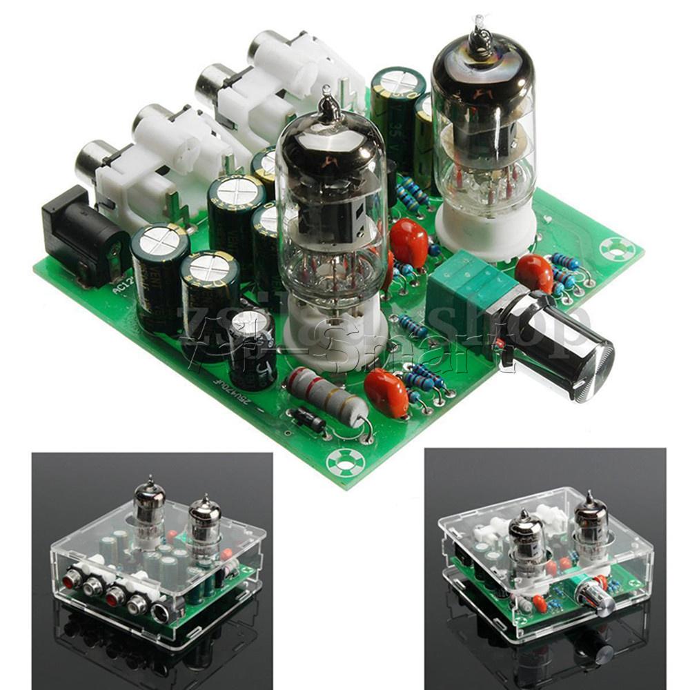 Acrylic Case 6J1 Valve Preamp Tube PreAmplifier Board ...