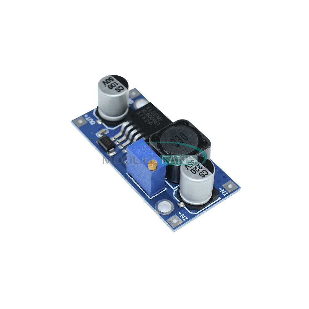 5Pcs XL6009 Dc Adjustable Step Up Boost Power Converter Module Replace LM2577 ge