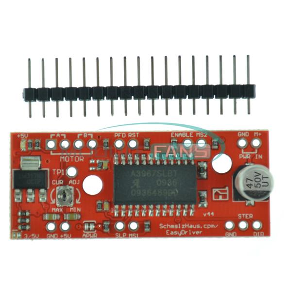 A3967 a4988 easy driver stepper motor driver board driver for Easy stepper motor controller