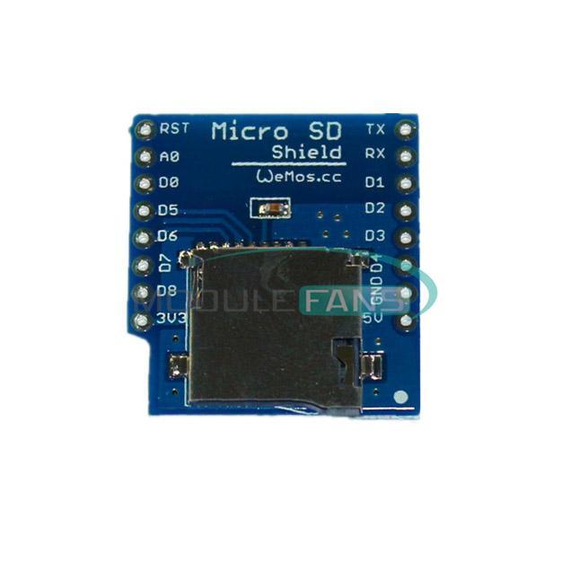 Micro sd shield for wemos d mini tf esp arduino ebay
