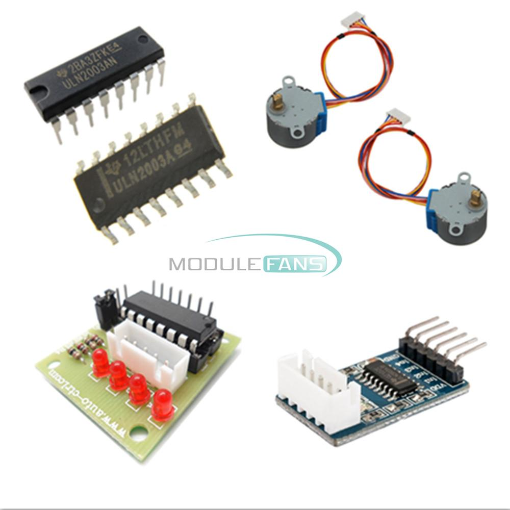 5v 12v uln2003 step motor 4 phase stepper motor driver for 3 phase stepper motor