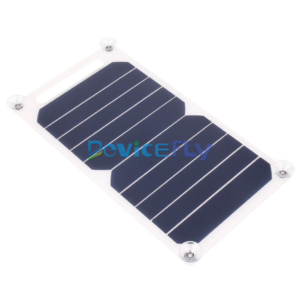 solar powered iphone charger portable 10w 5v solar power charging panel usb charger for 16158