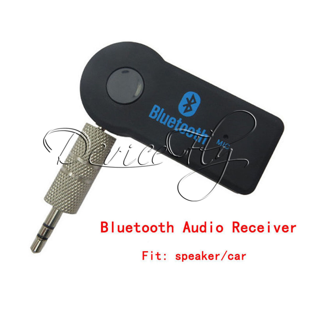 Bluetooth V3.0 Wireless Stereo Audio Music Receiver 3.5mm Handsfree Car AUX