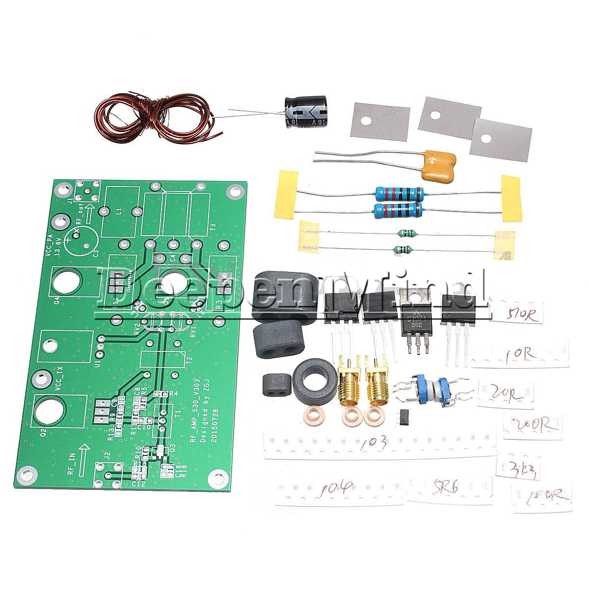 45 70w ssb linear hf power amplifier diy kits for transceiver yaesu ft 817 kx3 ebay. Black Bedroom Furniture Sets. Home Design Ideas
