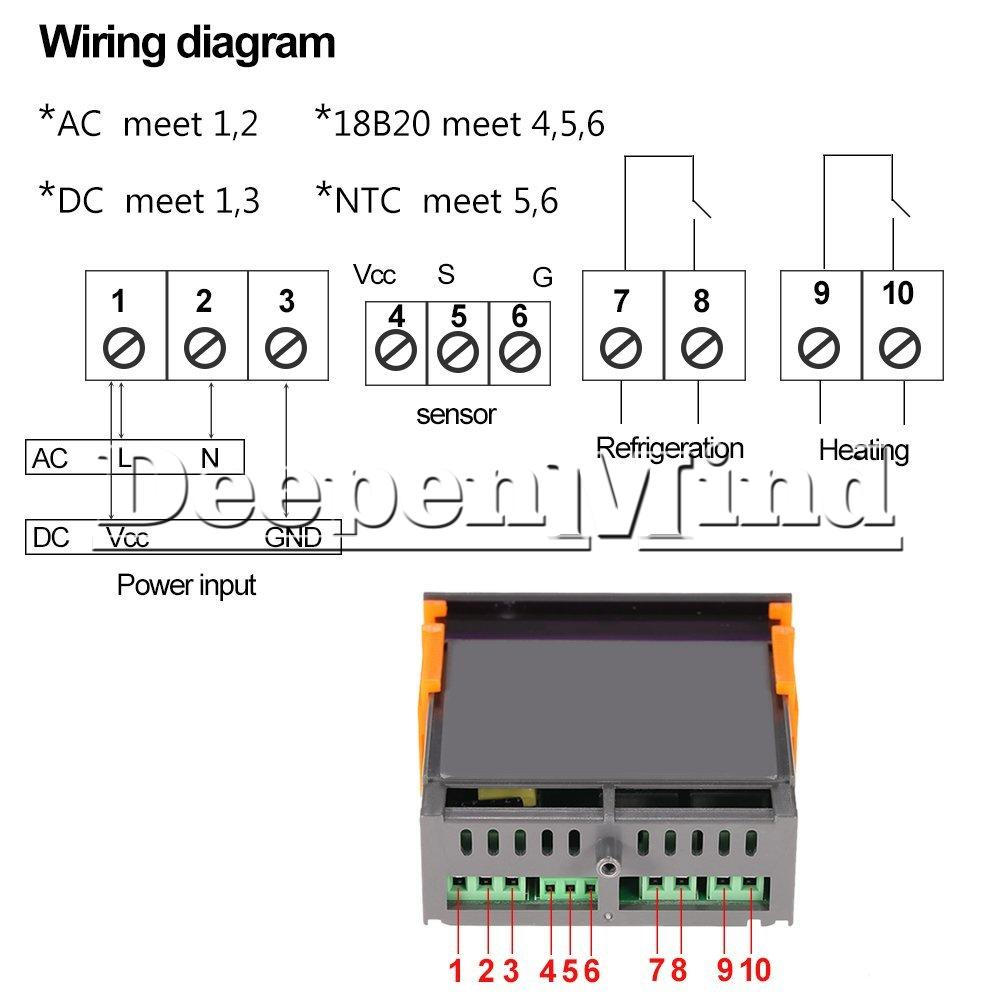 3920963382 w1209 12 24 220v stc 100 stc 1000 digital temperature controller stc 1000 wiring diagram at soozxer.org