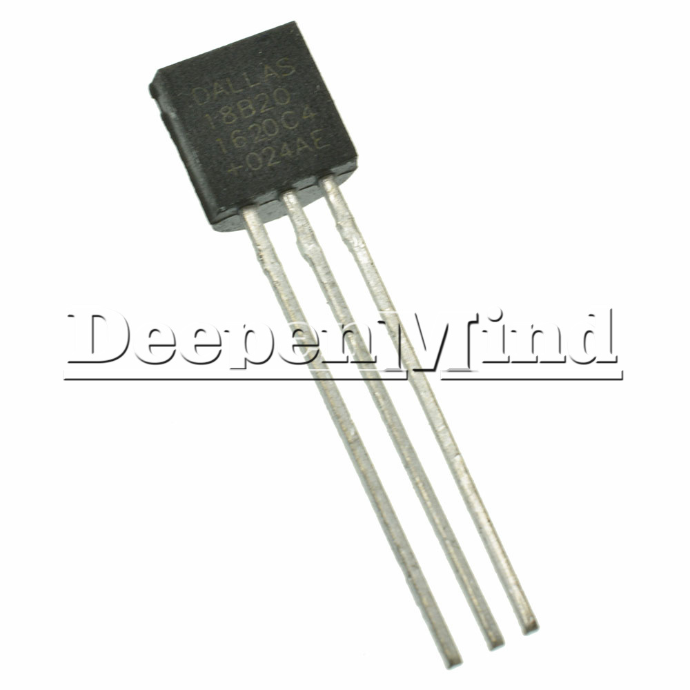 Dallas Ds18b20 18b20 To 92 Digital Thermometer Temperature Sensor Ebay Electronic Circuit