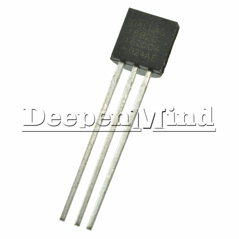 Dallas Ds18b20 18b20 To 92 Digital Thermometer Temperature Sensor Ebay Circuit
