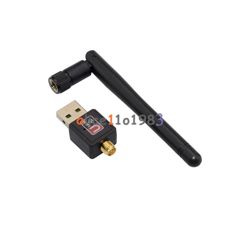 Mini mbps usb wifi wireless adapter dongle lan card