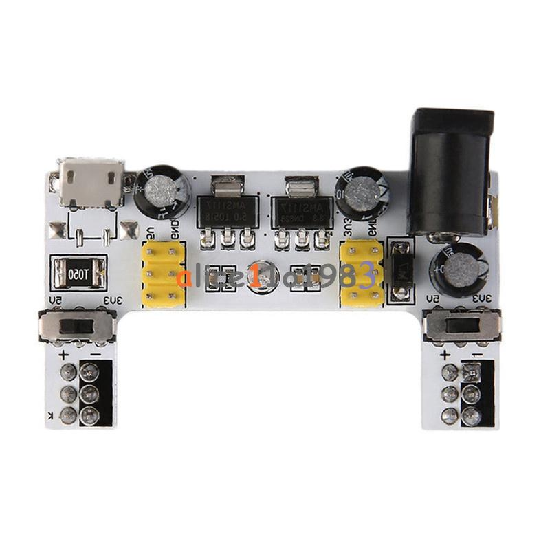 MB102 Micro Popular Breadboard Power Supply Modul DC7-12V For Arduino BreadBoard