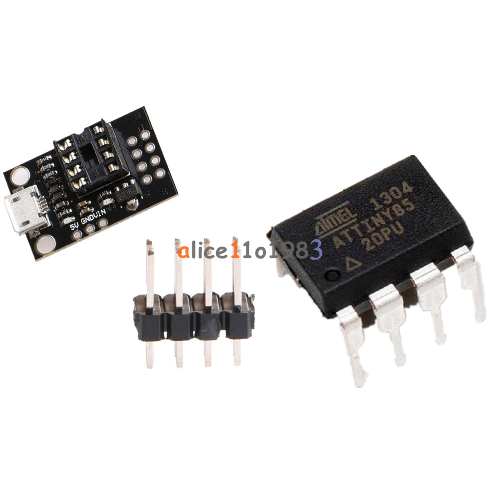 Mini Attiny85 Micro Usb Development Programmer Board For