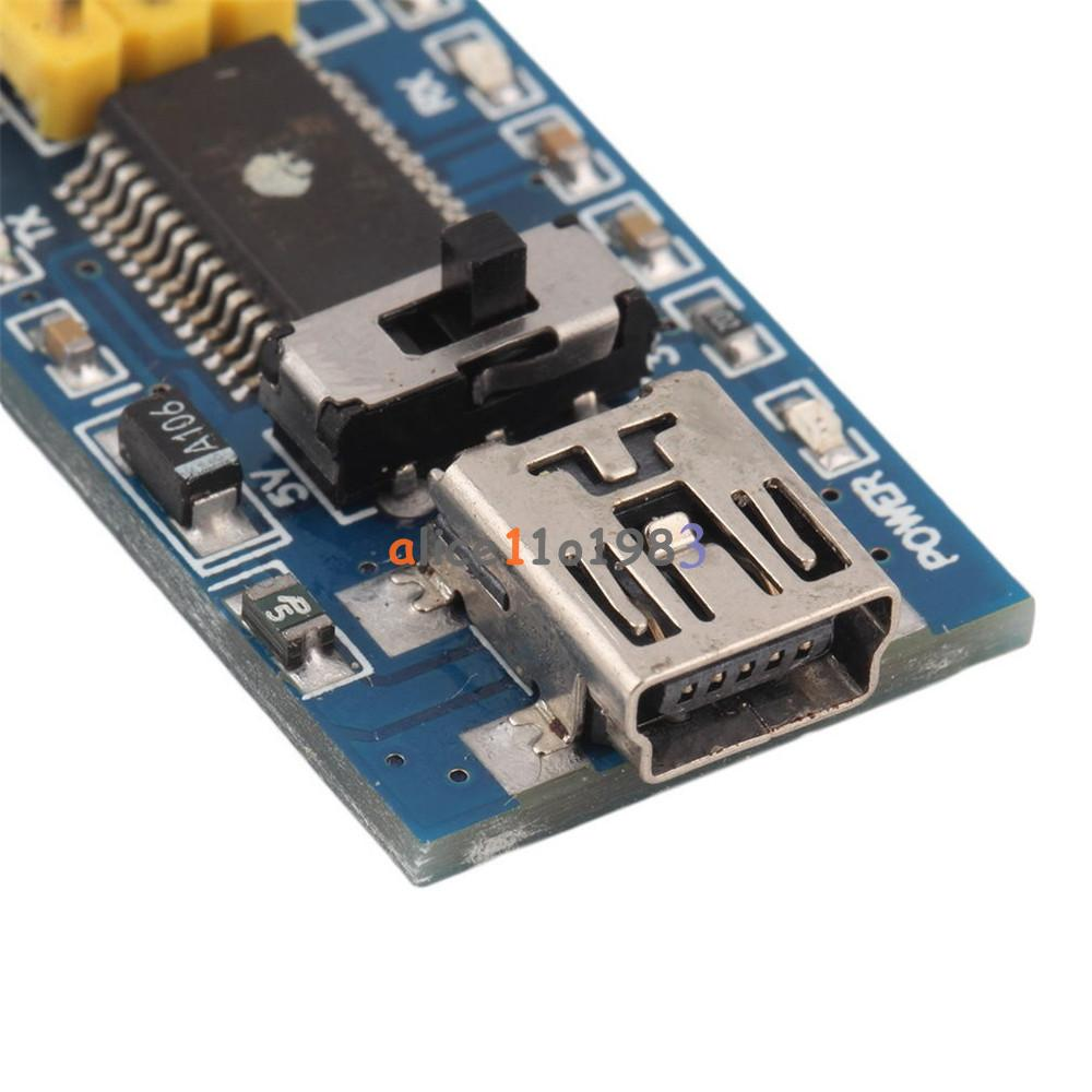 Ftdi ft rl usb to serial ic basic breakout board for