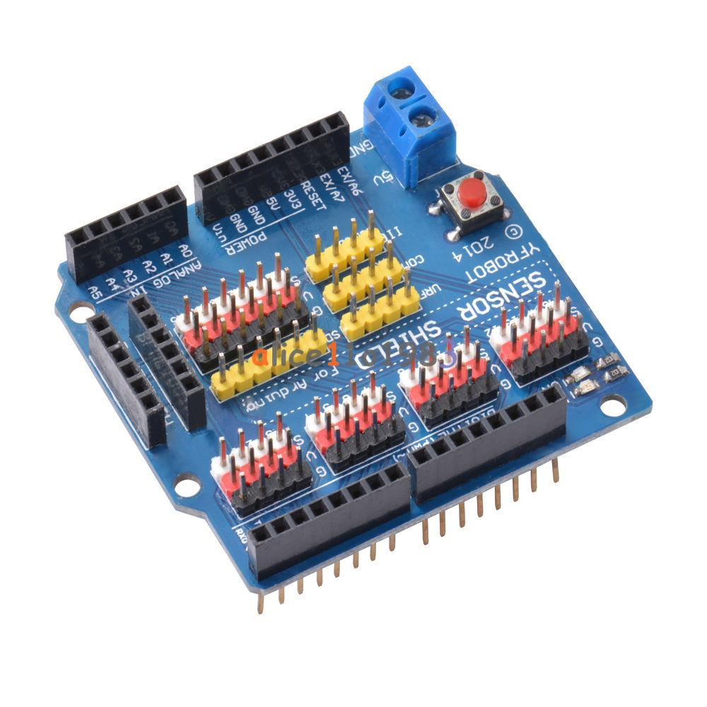 V sensor shield expansion board for arduino uno r