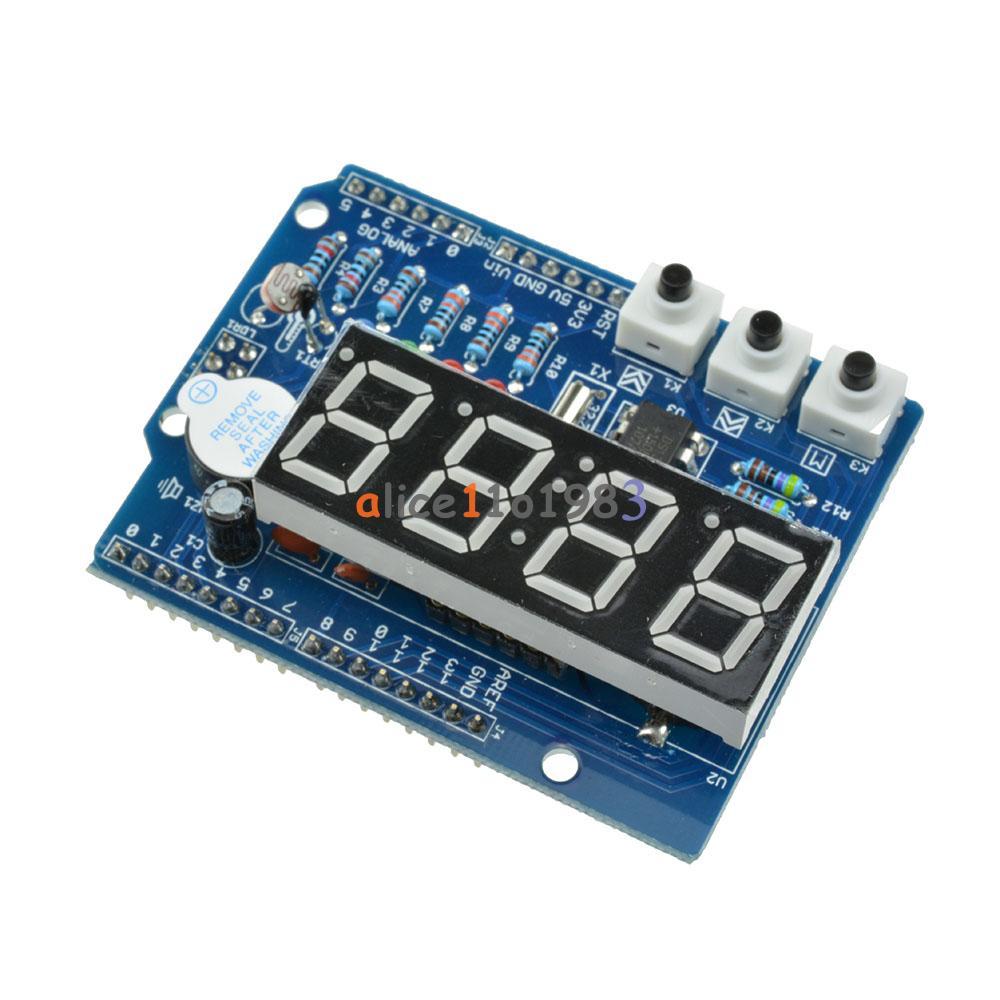 Rtc tm ds real time clock shield digital tube