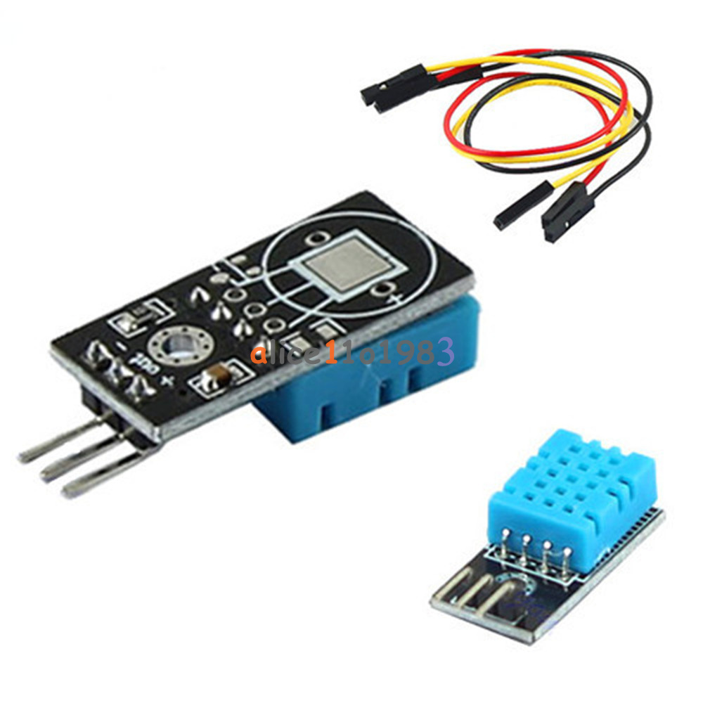 New dht temperature and relative humidity sensor module