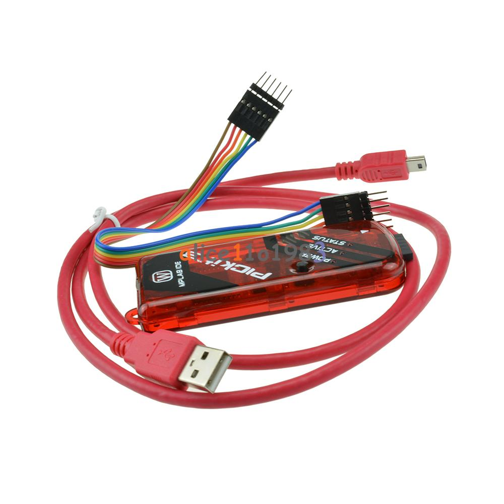 AVR Code Debugger - Microcontroller Project Circuit