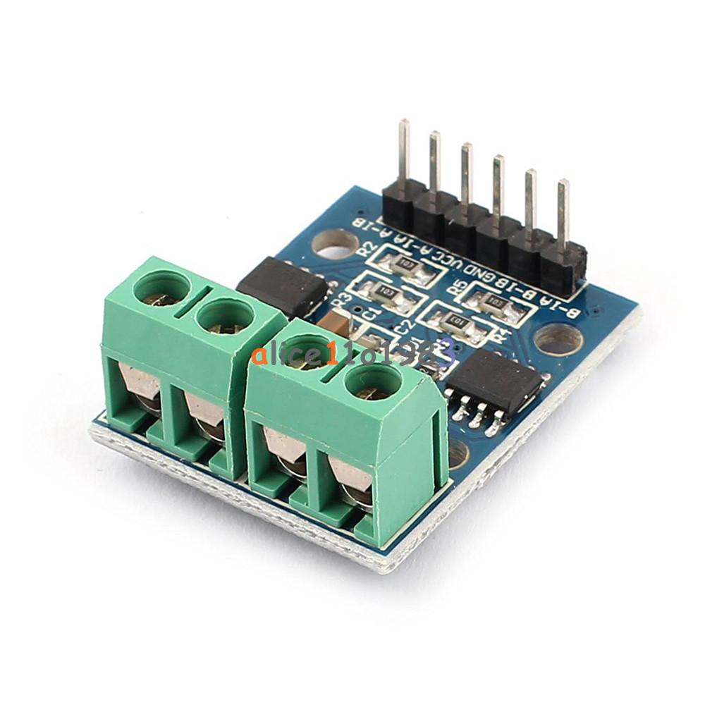 H bridge stepper motor dual dc motor driver controller for Arduino and stepper motor