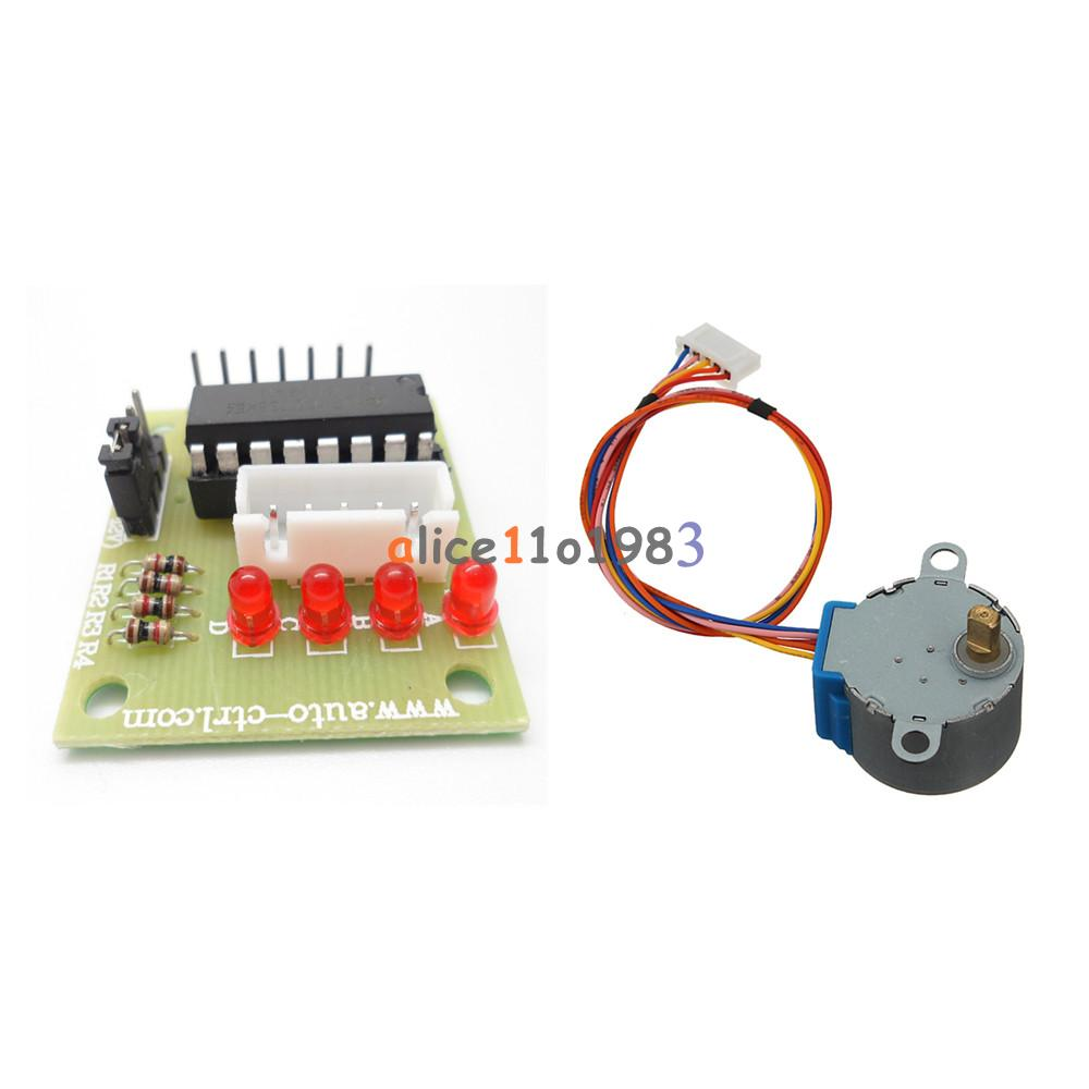 12v stepper motor 28byj 48 with drive test module board for How to check stepper motor