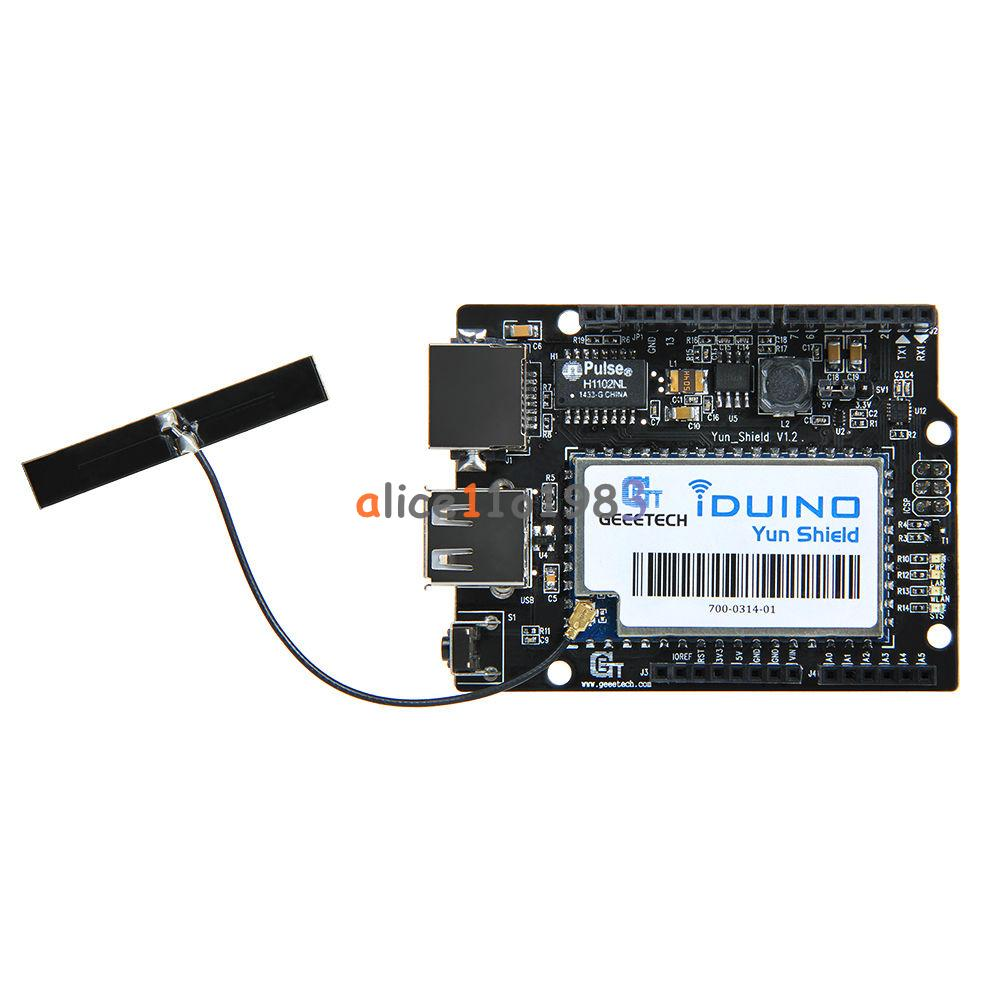 Sale powerful iduino yun shield linux wifi ethernet usb