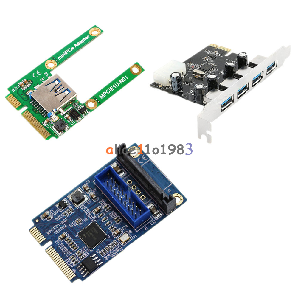 Mini 4 port pci e to usb 2 0 3 0 hub pci express expansion - Is usb 3 0 compatible with a usb 2 0 port ...