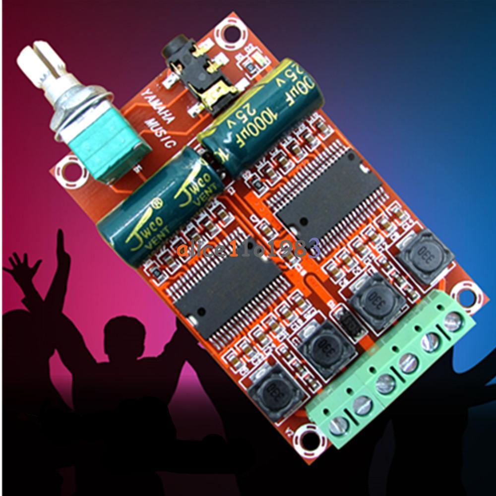 Details about XH-M531 Yamaha 2*20W Digital HIFI Audio Stereo Class D  Amplifier Board YDA138-E
