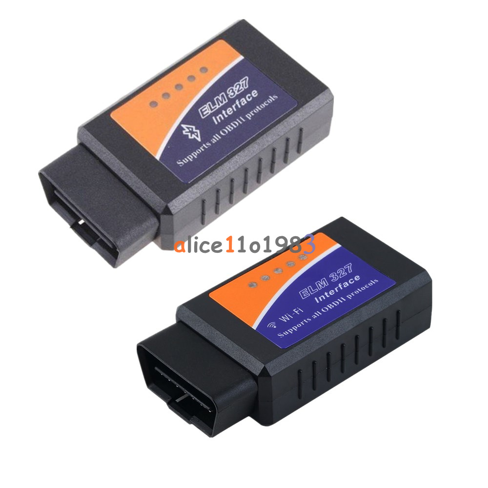 elm327 wifi bluetooth obd2 obdii car diagnostic scanner. Black Bedroom Furniture Sets. Home Design Ideas