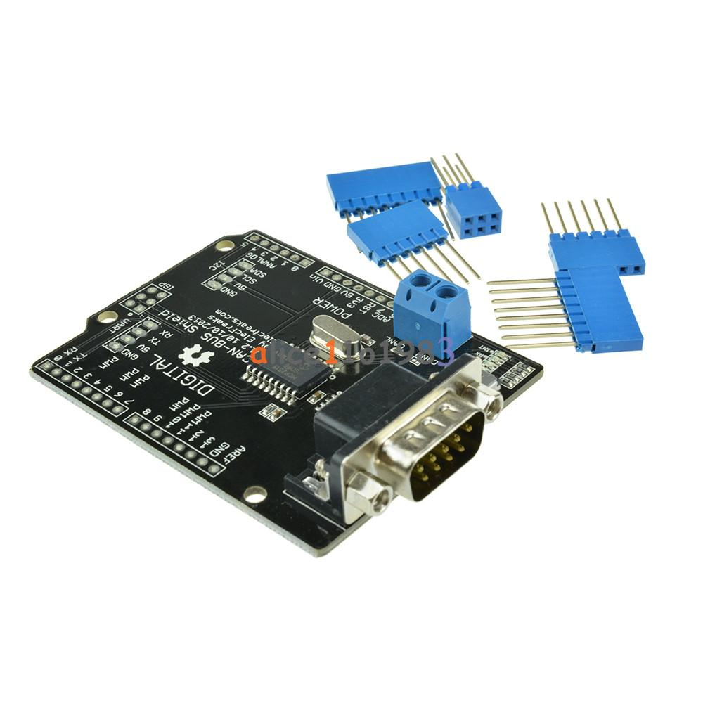 spi mcp2515 ef02037 can bus shield controller. Black Bedroom Furniture Sets. Home Design Ideas