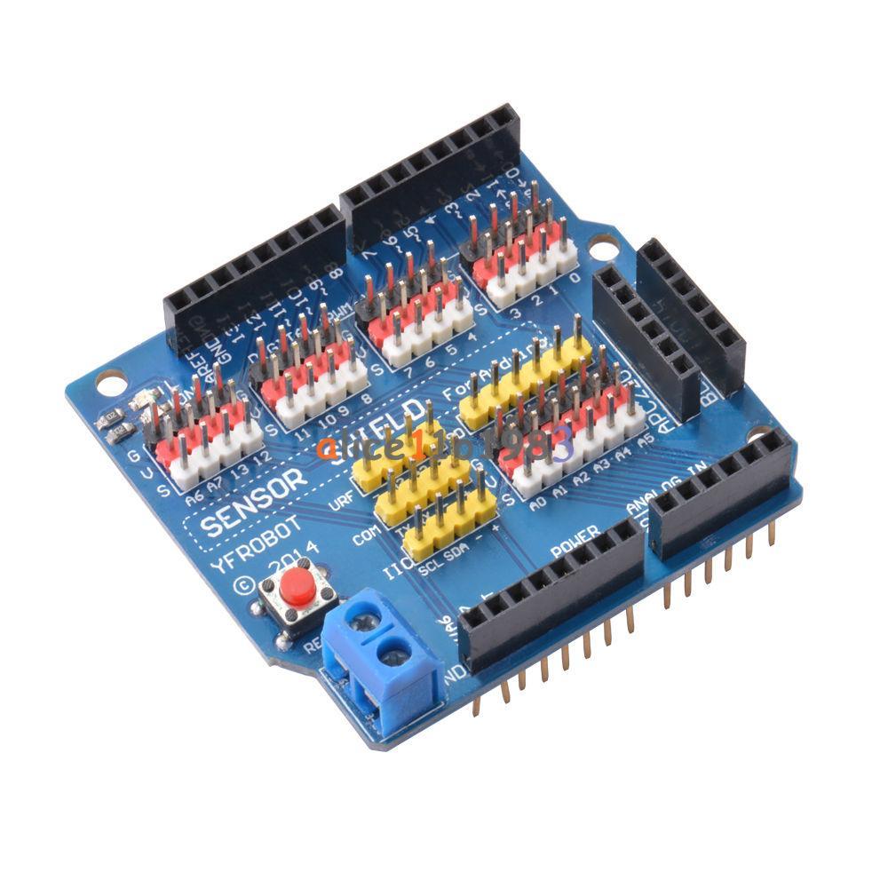 V sensor shield expansion board for arduino uno r