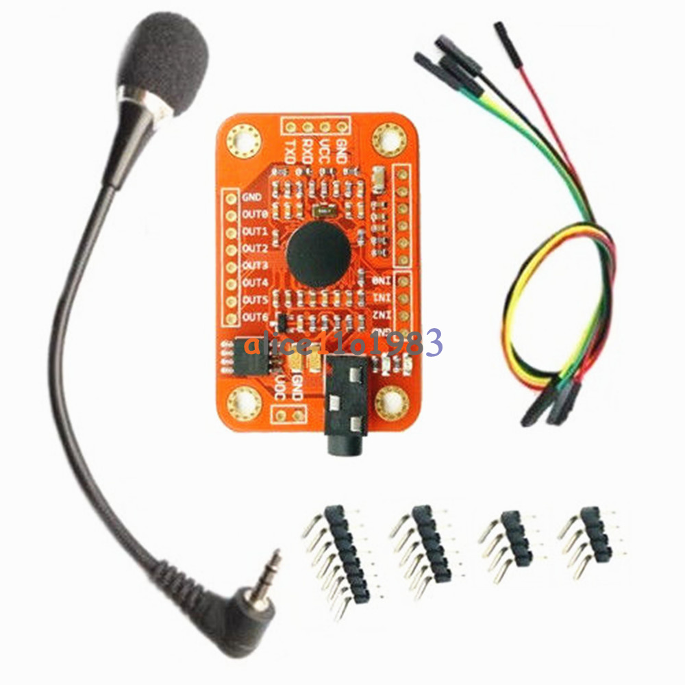 Details about Voice Recognition Module Board V3 Kit For Arduino Compatible